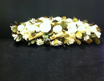 Centrotavola fiori bianchi