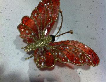 farfalla bomboniera matrimonio, comunione, cresima