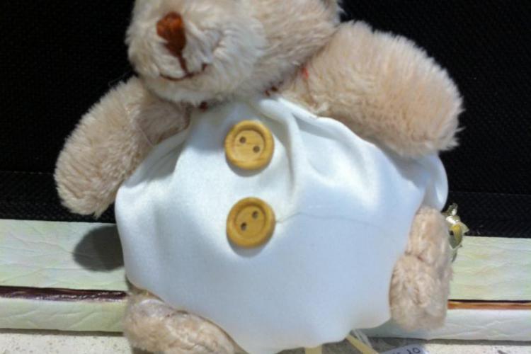 bomboniere: peluche porta confetti orso