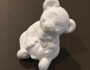 gesso profumato bomboniera orso