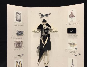 """Oca Bianca: angelo della moda """"Ville Lumiere"""""""