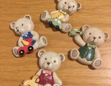 bomboniere magnete Tedy orso
