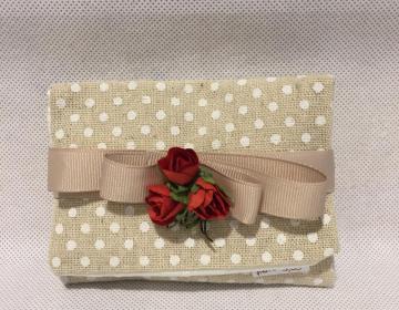 busta ecru porta confetti per matrimonio, Comunione, anniversario, Cresima, compleanno,