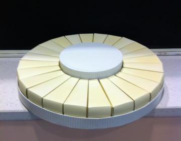 torta porta confetti in cartone