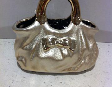 Offerta speciale: borsa vaso oro